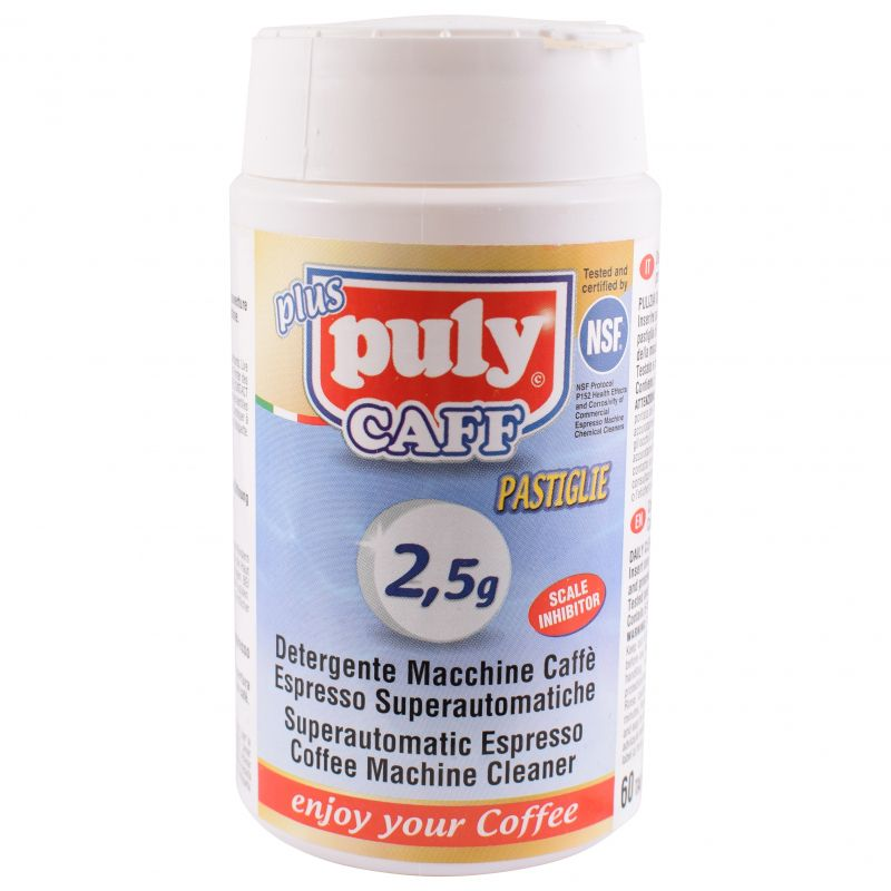 60 Puly Caff Cleaning Tablets 2.5g Large