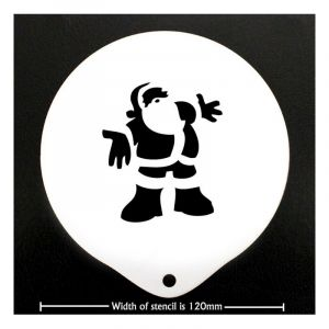 FATHER CHRISTMAS STENCIL