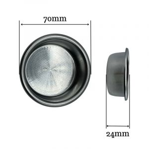 VST PRECISION FILTER BASKET RIDGELESS 18 GRAM