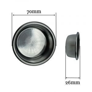 VST PRECISION FILTER BASKET RIDGELESS 20 GRAM