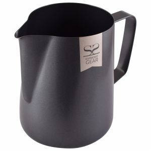 ESPRESSO GEAR TEFLON COATED FOAMING JUG - 0.60L BLACK