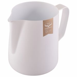 ESPRESSO GEAR TEFLON COATED FOAMING JUG - 0.35L WHITE