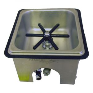 COUNTER TOP FROTHING PITCHER RINSERGLASS RINSER - 152MM (L) 140MM (W) 64MM (D)
