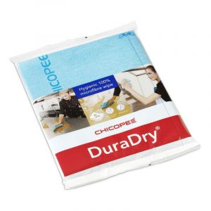 CHICOPEE DURADRY MICROFIBRE CLOTH - BLUE (PACK OF 5)