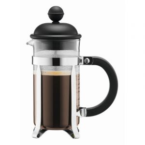 BODUM CAFFETTIERA COFFEE MAKER, 3 CUP, 0.35 L, 12 OZ - BLACK