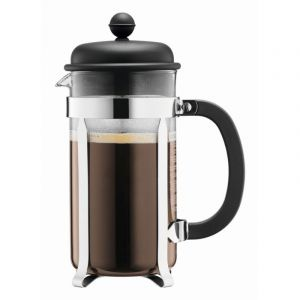 BODUM CAFFETTIERA COFFEE MAKER, 8 CUP, 1.0 L, 34 OZ - BLACK
