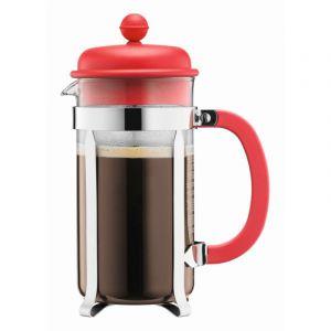 BODUM CAFFETTIERA COFFEE MAKER, 8 CUP, 1.0 L, 34 OZ - RED