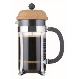 BODUM CHAMBORD COFFEE MAKER 8 CUP 1.0L/34OZ - GLASS, CORK LID