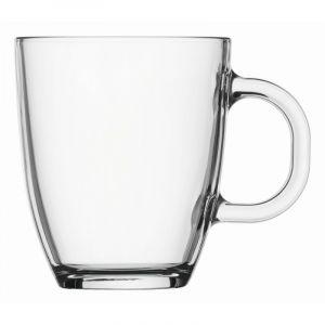 BODUM BISTRO COFFEE MUG, 0.35 L, 12OZ - TRANSPARENT
