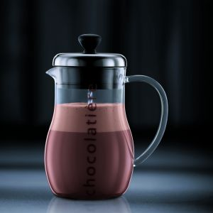 BODUM CHOCOLATIER, CHOCOLATE JUG, 1.0 L, 34OZ - SHINY