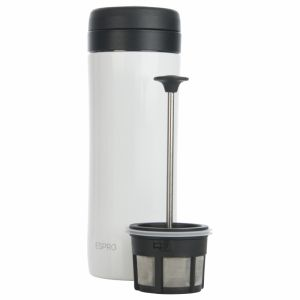 ESPRO COFFEE TRAVEL PRESS CHALK WHITE 12OZ