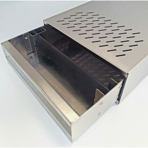 NEW: PREMIUM DRAWER FOR COFFEE GROUNDS - STAINLESS STEEL