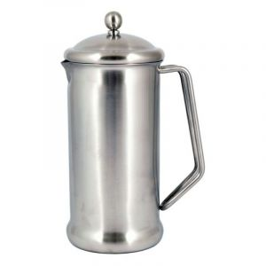 CAFETIERE STAINLESS STEEL 2 CUP 400ML - BRUSHED FINISH