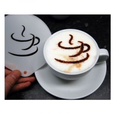 COFFEE CUP STENCIL 2