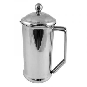 CAFETIERE STAINLESS STEEL 2 CUP - MIRROR FINISH