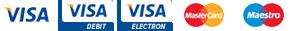 Visa Mastercard Maestro Sage